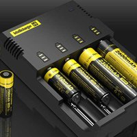 Caricabatterie Nitecore I4 Caricabatterie Nitecore USA per 18650 14500 17670 18490 17500 17335 16340 DHL gratis