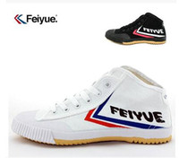 free shipping Feiyue Canvas shoes for male and female senior...