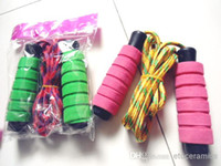 Colorful jump rope Children rope skipping colourful skip pro...