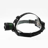 KC Fogo Novo 1000LM CREE XM-L T6 LED Ajustável Zoom Farol Tocha Flashligh Farol HL0009