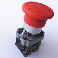 XB2-BS545 1NC 1NO Drücken Trennen Trennen Rotationsreduktion Neu Schneider Rotes Zeichen Not-Aus Druckschalter