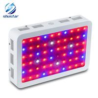 DIAMANTE 600 W 800 W 1000 W 1200 W 1500 W 1600 W 1800 W 2000 W Chip Duplo LED Crescer Luz Completa Espectro Vermelho / Azul / UV / IR Para Plantas de Interior