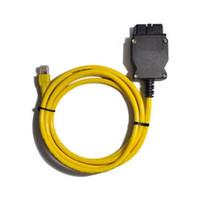 Fcarobd 2016 ESYS Data Cable OBD Ethernet Code for BMW ICOM a2 OBD2 لـ BMW ESI Enet Cable E-SYS ICOM