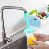 Kreative Küchenhahn Dusche Wasser Hippo rotierend Spray Tap Wasser Filterventil speichern Wasser Dusche Küche Badezimmer Werkzeug