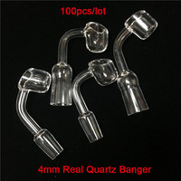 Moq is 1 Piece Full Transparent Quartz Banger 10mm 14mm 18mm...