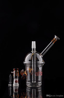Newest Cheech Fumar Recicle Cyclone Dabs Pipes Starbuck Copa Pequeños pies y logo Tortuga Agua Glass Glass Pipes Bubbler Vaporizador