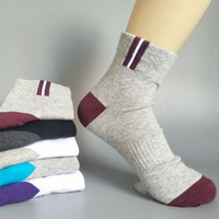 Autumn and winter socks mens cotton socks absorbent sweat deodorant in the male socks wholesale 15 style free shipping