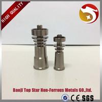 Gr2 титановый гвоздь без купола-прямой инъекции дизайн подходит для 10 14 18 мм стеклянных швов