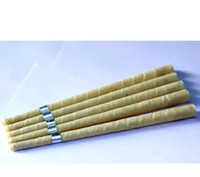 Wholesale pure beewax ear candle unbleached organic muslin f...