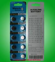 AG13 LR44 A76 L1154 357 SR44 1.5V القلوية كوين بطاريات زر خلية الزئبق 2000packs الحرة / لوط