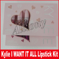 Kylie The Birthday Collection MATTE Жидкая помада 6pcs / set Я хочу, чтобы ВСЕ Цвета по Kylie Jenner Limited Edition