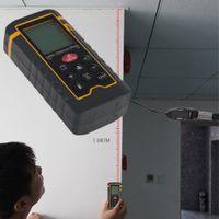 Misuratore di distanza palmare per telemetro laser Misuratore di area / volume Tester HT-60 Vendita calda