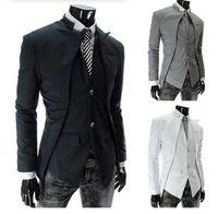 Autunno New Fashion Blazer Blazer Blazer Abito da uomo Abiti da uomo Blazers Slim Casual Giacca Bianco Blazer Blazer Bianco