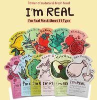 Tyondyly Original Korea أنا قناع حقيقي النباتات الطبيعية ترطيب الوجه قناع 11 ستاين (أرسل عشوائيا) ترطيب قناع الوجه الكوري