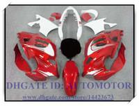 Kit carenatura 100% nuovo di alta qualità adatto per Suzuki GSX600F / 750F 1997-2005 GSX 600F GSX750F 1998 1999 2000 2001 # AK822 ROSSO