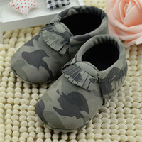 Wholesale- Fashion Baby Boy Camouflage Shoes Infants Toddler...