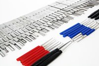 Wholesale véritable Lishi Lockpick HU66 HON66 HU101 TOY2 TOY40 TOY43 KIA SAAB Verrouillage de voiture Pick Set Auto Profesional Locksmith Tool