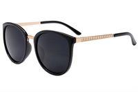 Sonnenbrille Frauen Sonnenbrille für Frauen Frau Runde Sonnenbrille Vintage Sunglases Damen Designer Sonnenbrille UV 400 Günstige Sonnenbrille 3L1A26