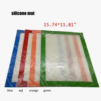 Food Grade Silicon Antihaft-Silikon-Dab-Matte für Wax 400 * 300mm (15.74 * 11.81 inch) BHO Wax Dab Mats Pass FDA LFGB-Test