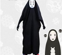 Japanese Anime Spirited Away Cosplay No Face Man Costume for...