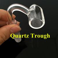 Новый кварцевый корыт кварц Banger Nights Nower Немецкий мужской мужчина 10 мм 14 мм 18 мм совместный DAB буровой вышка также продает Banger Carb Cap Crass Banger