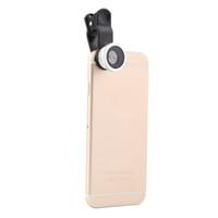 Mais novo prata 3 em 1 clipe lente da câmera peixe olho grande angular macro kit para telefone inteligente