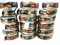 wholesale bulk lots 100pcs Bob Marley Jamaica Rasta Reggae stainless steel band jewelry rings brand new