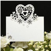 الليزر قطع بطاقات مكان اسم بطاقات الزفاف اسم ضيف بطاقة مكان حفل زفاف الجدول الديكور زفاف الديكور