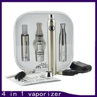 Más nuevos 4 en 1 Evod Batería Cigarette Electrónico Vaporizador Multi Vaporizador Kit de inicio Vape Pen MT3 Seco Herb Tank 0268017-1