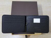 الأوروبية والأمريكية الأزياء نمط رجل المال كليب المصمم الشهير محفظة عالية الجودة مع حامل البطاقة المرأة قصيرة محفظة