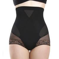 Wholesale-Sexy Women\'s Hot High Waist Trainer Body Shaper Butt Lifter Slimming Tummy Control Knickers Underwear
