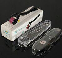 Dropship MT Derma Roller ile 540 Mikro İğneler Cilt Rulo Mikronedle Cilt Dermaroller Çeşitli Boyutu