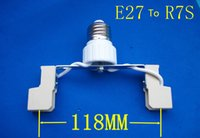 wholesale E27 To R7S LED Halogen CFL Bulb Light Lamp Adapter...