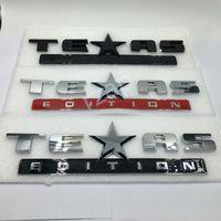 シボレーシーバーシルバードリアブーツトランクエンブレムステッカーのための3色の車のバッジテキサス版のロゴ