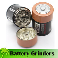 Popular Battery Grinders 42mm Diameter Tobacco Grinders 3 Pa...