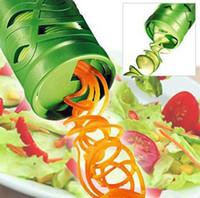 Vegetal Frutas Veggie Twister Cortador Fatiador De Processamento De Cozinha Guarnição Ferramenta # R571