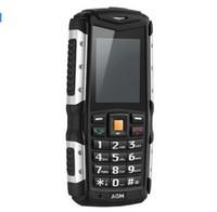 ORIGINAL AGM M1Tri-proof teléfono 2.0Inch IP68 a prueba de agua 3G WCDMA 128MB + 64MB teléfono móvil 2750mAh tarjeta SIM Dual 2.0MP a prueba de polvo Venta caliente