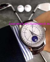 Luxury Watches New 18k Gold White Dial Diamond Bezel 39mm Mo...