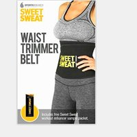 Sweet Sweat Waist Trimmer Belt Premium Fitness Belt for Men ...