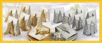 Fashion Gold Sliver Favor de los tenedores para la novia de la boda Envío gratis Designer barato 2020 Caja de caramelo de boda Cajas 50 piezas / lotes