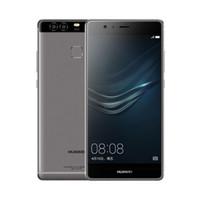 "Versione globale Huawei P9 4G Phone cellulare LTE Kirin 955 Octa Core 3 GB RAM 32GB ROM Android 5.2 ""Schermo 2,5D vetro 12.0MP Impronta digitale ID 3000Mah Smart Mobile Phone"