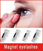 new Prevent allergy Magnetic Eye Lashes 3D Reusable False Ma...