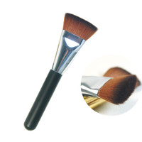 Wholesale- New flat make up brush set contour powder brush se...