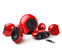 New Edifier e255 Luna E 5.1 Surround Sound Sistema Home Theater - Altoparlanti posteriori wireless Subwoofer -AUX ottico - Dolby / DTS Perfect