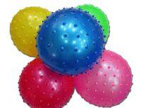 Top-vendedor de bebé masaje de pies bola de masaje de rodillos bola de juguete inflable masajeador Propiedades masaje nudosa bola de envío libre