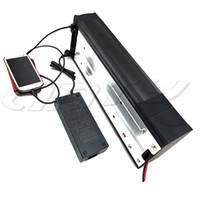 48V 30Ah E-Bike-Lithium-Batterie für Bafang BBS02 500W 1200W Motor nachladbare elektrische Fahrradbatterie 13S 48V Freies Verschiffen