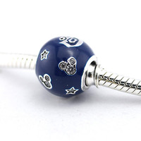 100% 925 argento terra 60th anniversario charms adatto pandora charms bracciale in argento sterling-gioielli di fascino per le donne gioielli di moda