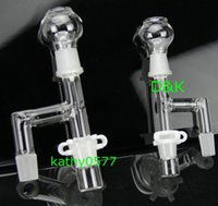 adattatore per bong in vetro tubo per impianto idrico 14,4 mm o 18,8 mm giunto maschio adattatore per vetro in vetro gorgogliatore in vetro tubo dell'acqua con clip in plastica