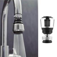 Кухонный кран bubbler360 градусов воды Bubbler поворотная головка сохранение кран кран аэратор разъем диффузор сопла фильтр сетки адаптер