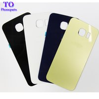 Battery Back Housing Cover Glass Cover For Samsung Galaxy S6...